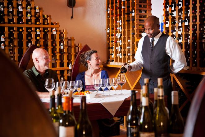 Ti Kaye Resort & Spa Wine Cellar