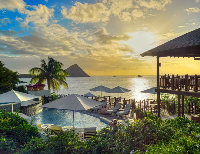 Luxury St. Lucia Resort Cap Maison