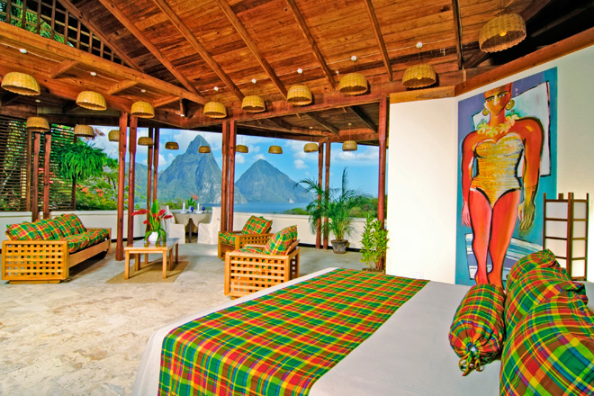 St. Lucia Luxury Resort Anse Chastanet - Room View