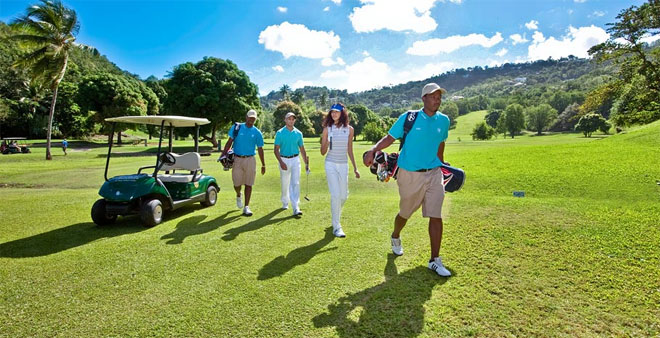 Luxury Golf Vacation in St. Lucia