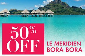 50 Percent Off Bora Bora Island Escape