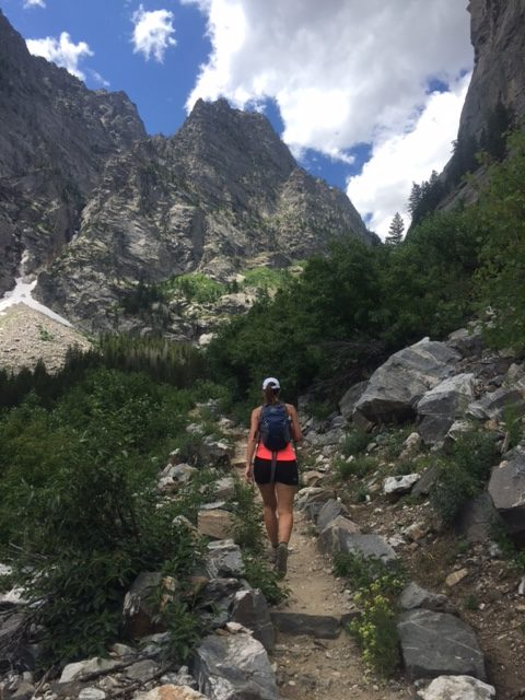 Hiking through Teton National Park, Yellowstone and Jackson Hole.
