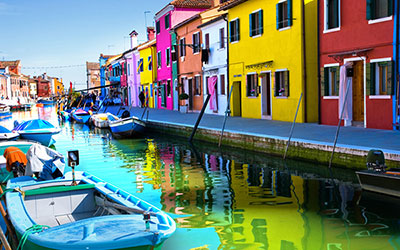 Viva l'Italia!  Murano & Burano