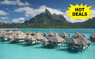 Luxury Awaits at the St. Regis Resort,  Bora Bora