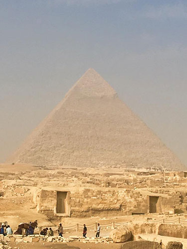 See the pyramids on your vacation to Egypt