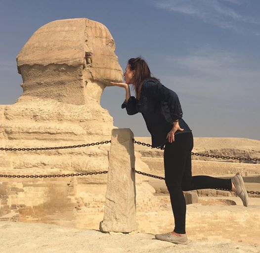 Up close and personal with the sphinx