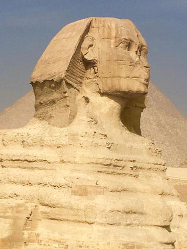 The Sphinx will amaze you