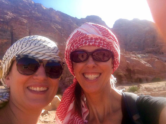 Margi in Petra
