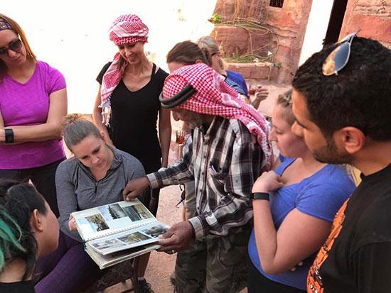 our Petrah, Jordan guide Zuhair Zuriqat