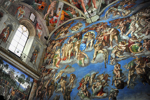 Vacation in Rome - Sistine Chapel