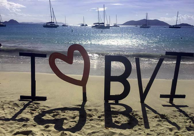 The British Virgin Islands are known as one of the world's greatest sailing destinations