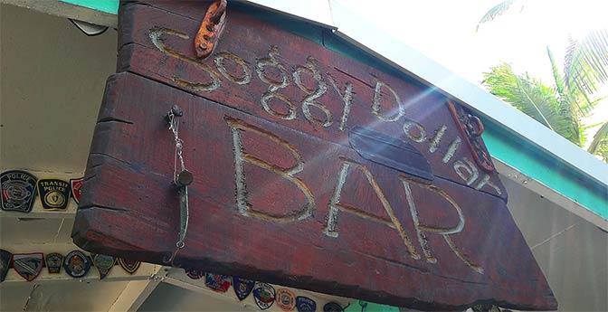 Soggy Dollar Bar British Virgin Islands