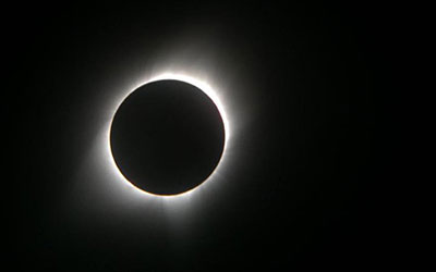 Total Solar Eclipse in Guernsey, WY