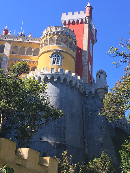 Vacation to Sintra, Portugal