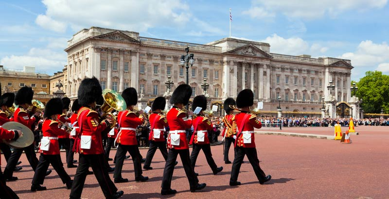 London Vacation - Buckingham Palace