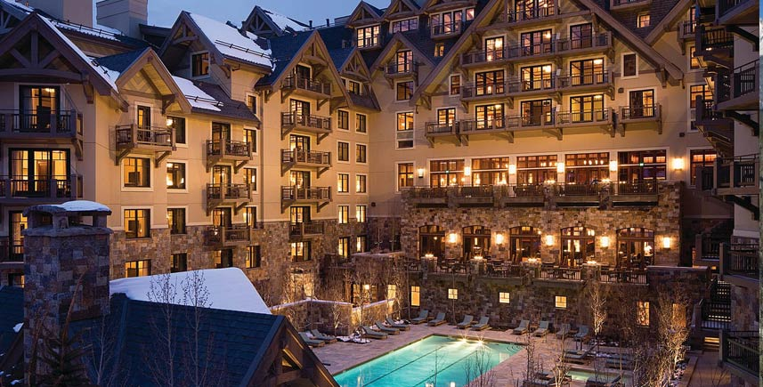 The Four Seasons Luxury Ski Resort and Spa in Vail, CO