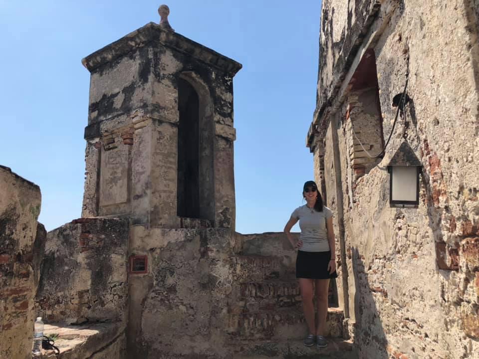 Visiting Fortificaciones de Cartagena de Indias.