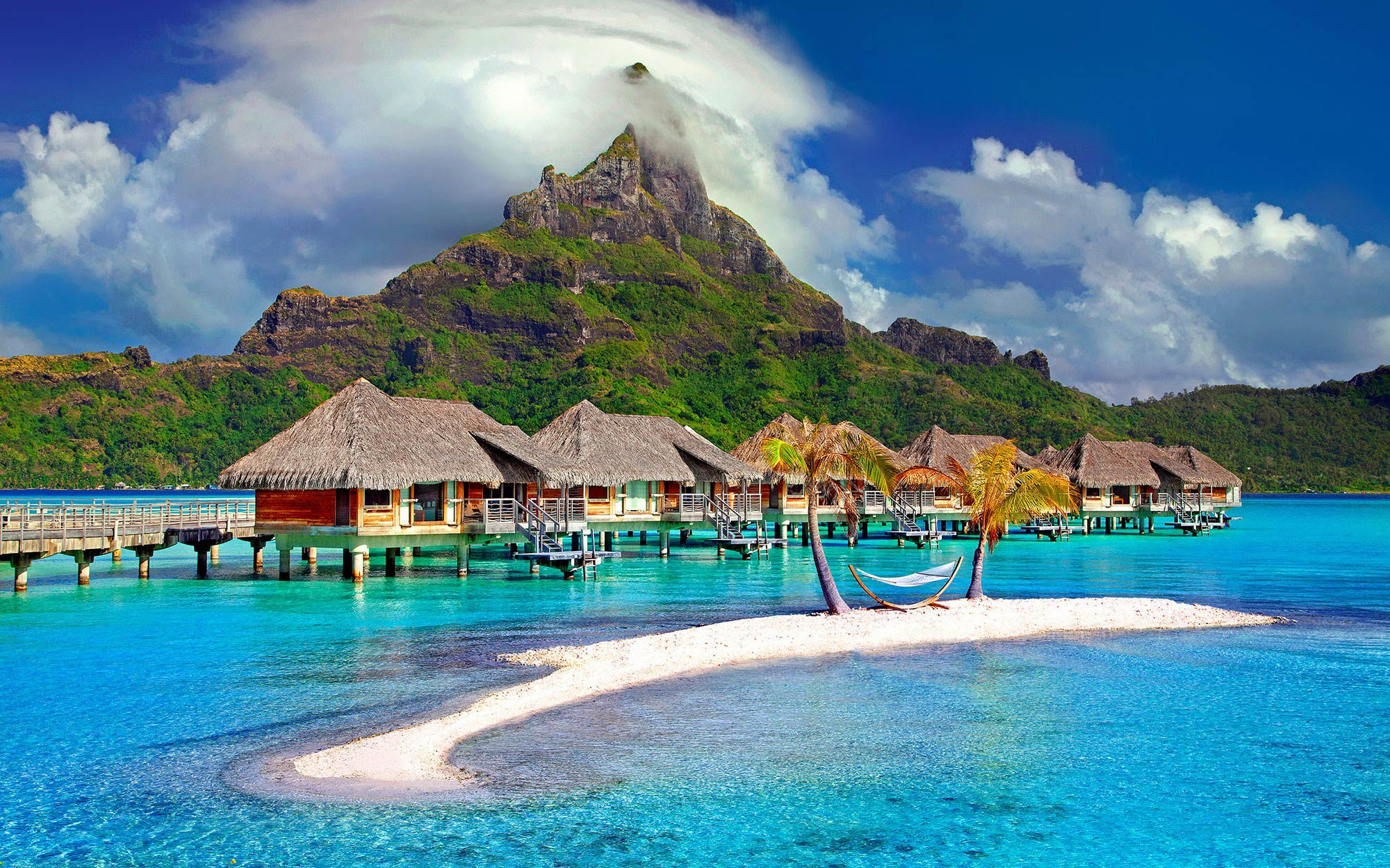 Top places to vacation in 2019 - Tahiti