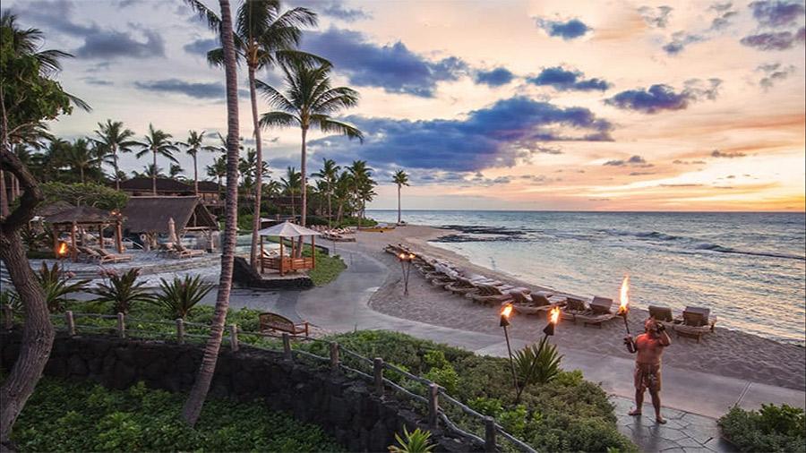 Luxury vacation at Four Seasons Resort Hualalai (Big Island)