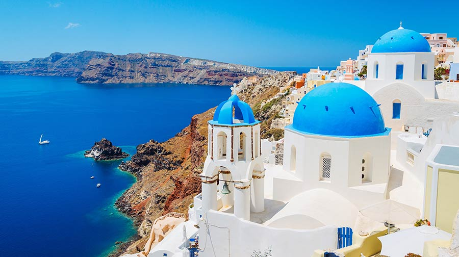 Santorini is possibly the most beautiful island in Greek Isles and is the perfect destination for a Greek holiday.