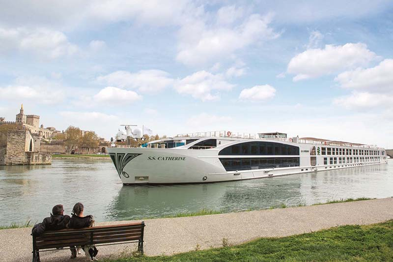 Uniworld River Cruises were named the World's Best River Cruise Line by Travel + Leisure.