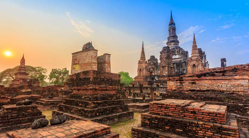 Sukhothai Historical Park - The Old Town Of Thailand