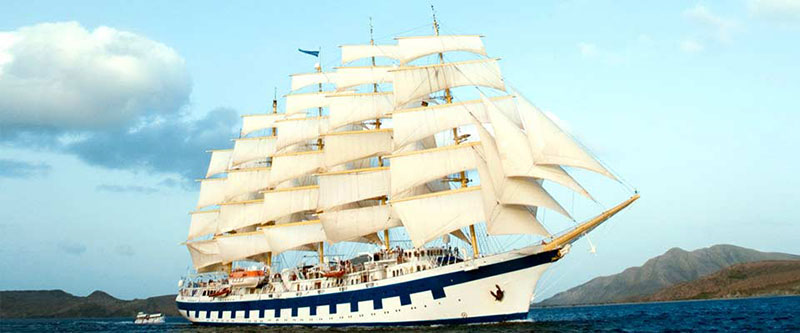 Set Sail on the Star Clippers Tall Ship