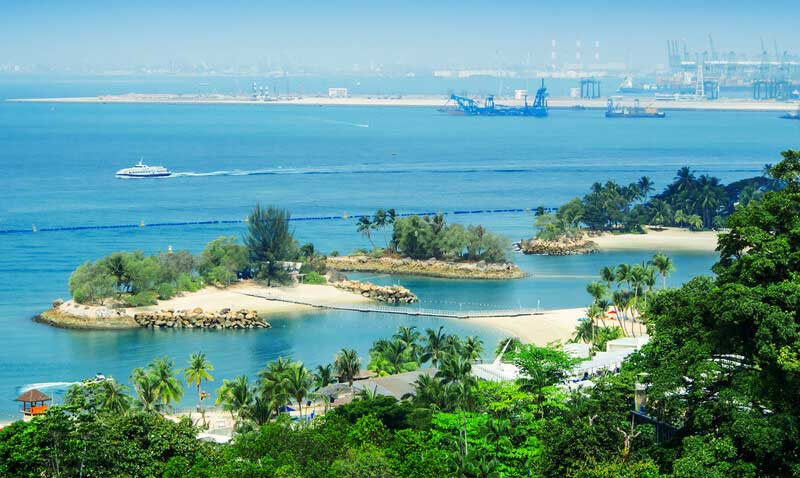 Find some fun in the sun at Sentosa Island, Singapore